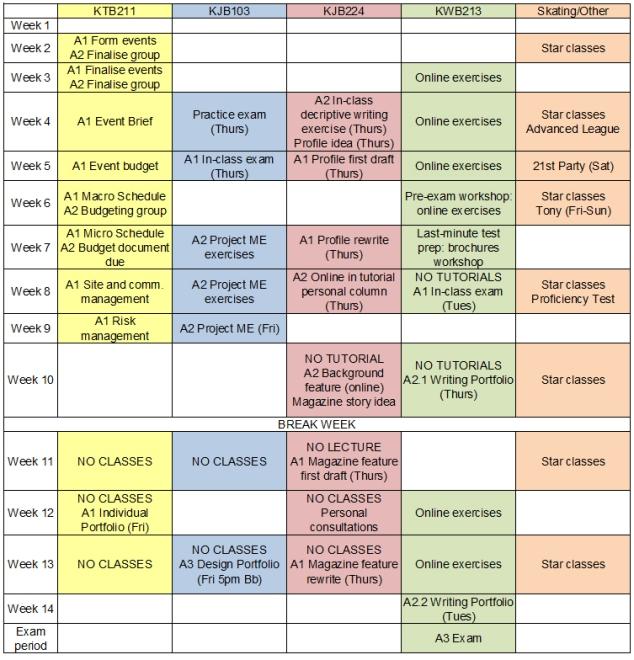 WEBMacro-schedule