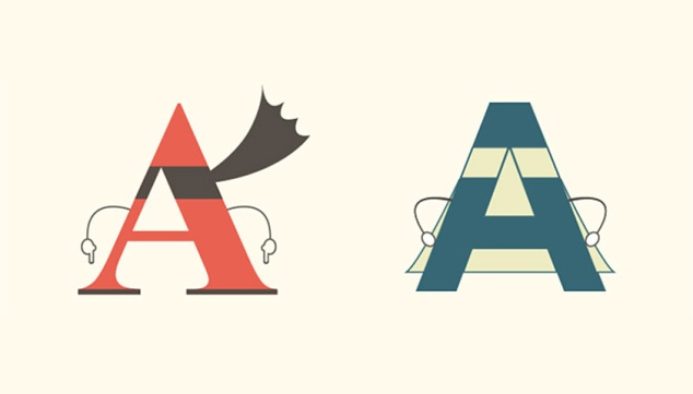 Serif vs. Sans: the final battle. Photo source.