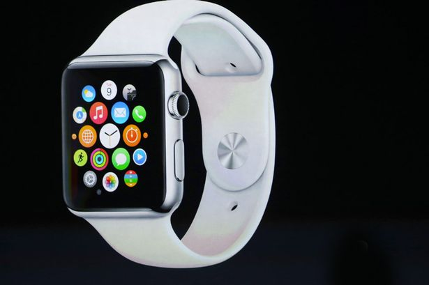 Apple's iWatch was launched early this year. Photo source.